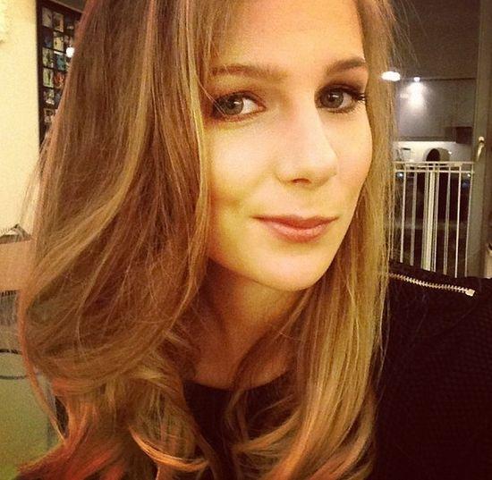 Marta Wierzbicka cieszy si� now� fryzur� (FOTO)