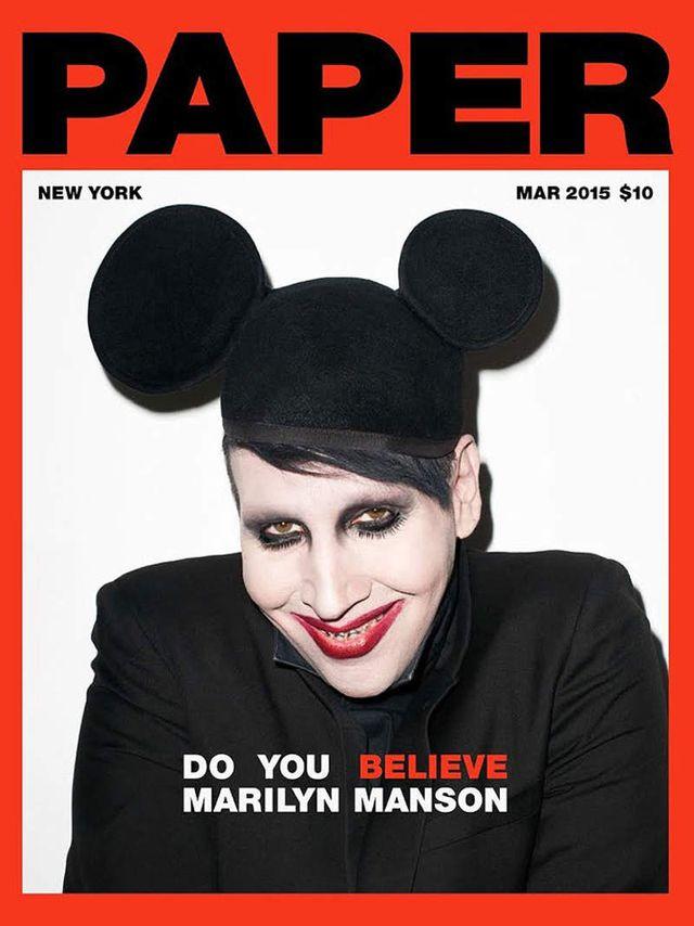 Dlaczego Marilyn Manson nosi makijaż? (FOTO)