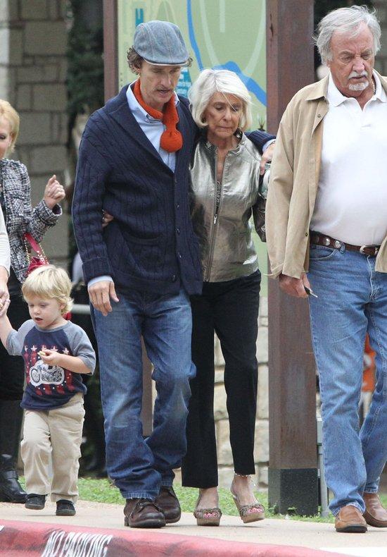 Drastycznie wychudzony Matthew McConaughey (FOTO)