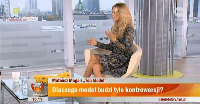 Joanna Krupa o załamaniu Mateusza Magi (VIDEO)