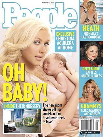 Christina i Max w magazynie People