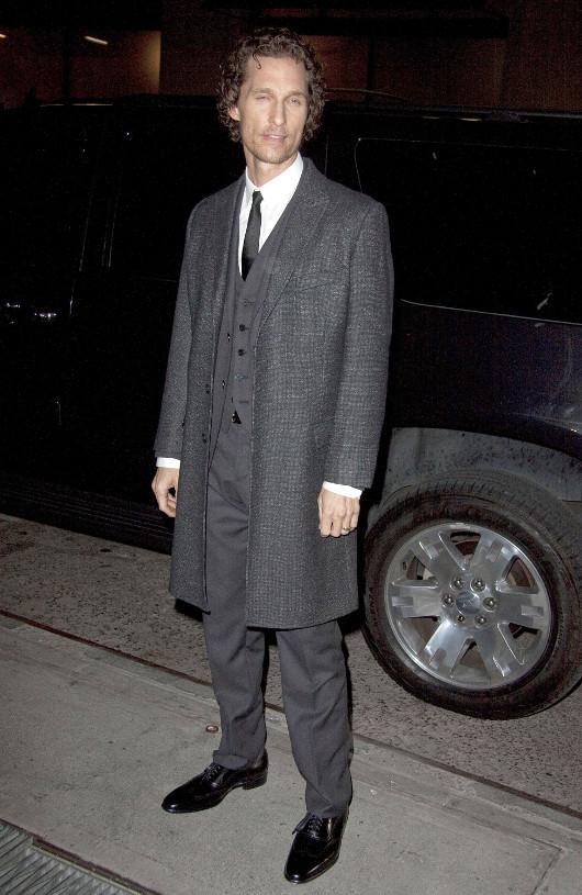 Mattew McConaughey jest na specjalnej diecie