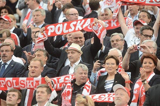 Mecz Polska-Grecja, pierwsze zdjęcia z trybun (FOTO)