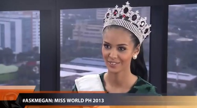 Oto Miss World 2013: Megan Young, Miss Filipin