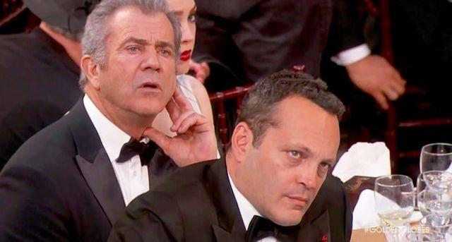 Złote Globy 2017: Mel Gibson i Vince Vaughn reagują na przemowę Meryl Streep
