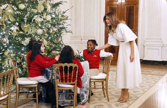 Internauci zachwyceni świątecznym wystrojem Białego Domu (ZDJĘCIA)