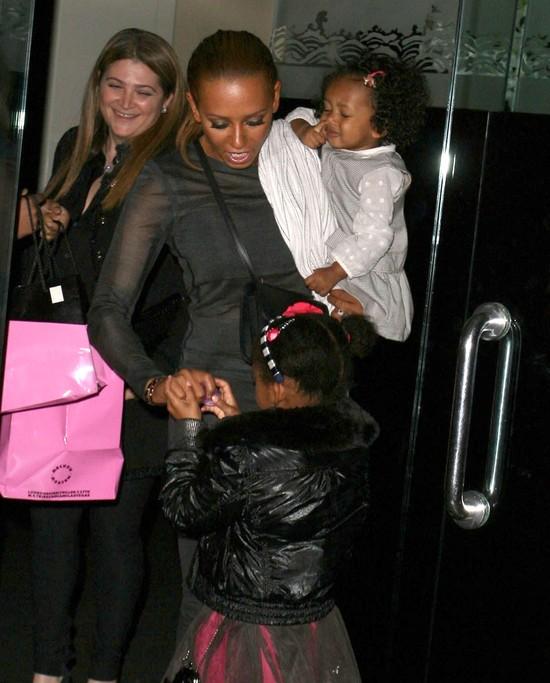 Córki Melanie B coraz bardziej podobne do mamy? (FOTO)