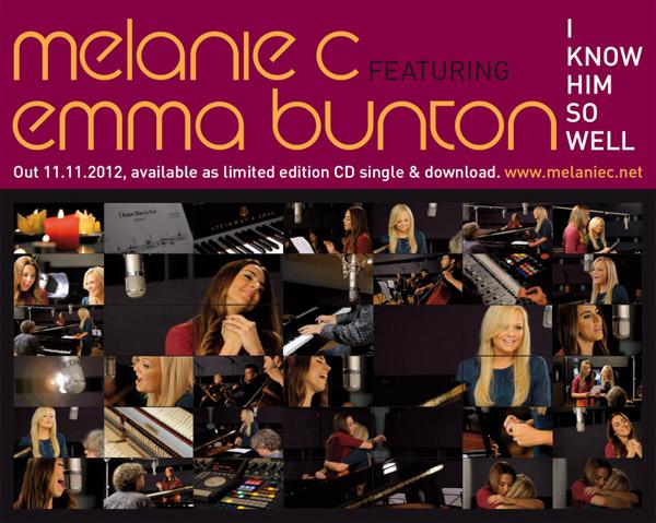 Emma Bunton i Melanie Chisholm nagrały razem piosenkę (VIDEO