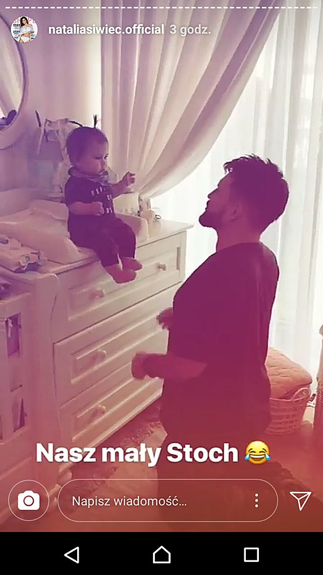 DZIWNA zabawa Natalii Siwiec z córką (Instagram)