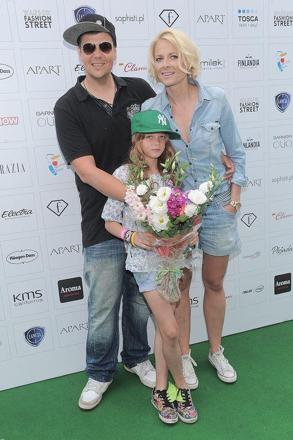 Michał Figurski z córką na imprezie (FOTO)