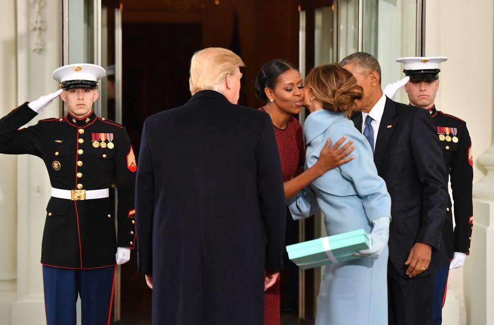 Melania zdradziła, CO BYŁO w pudełku, które dostała od Melanii Trump podczas ina