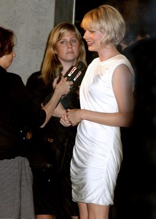 Michelle Williams nosiła specjalne majtki z wkładkami (FOTO)