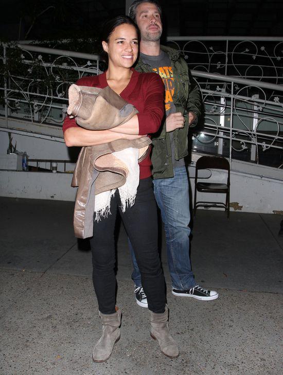 Michelle Rodriguez bez makijażu
