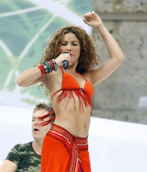 Shakira w Polsce