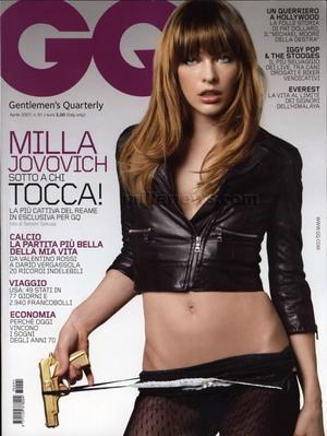 Niegrzeczna Milla Jovovich