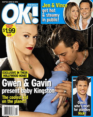 Czaderski syn Gwen Stefani