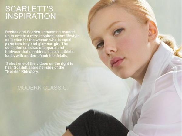 Scarlett tworzy buty...