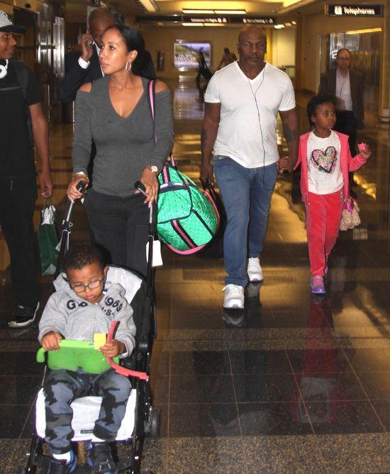Mike Tyson ma słodkie dzieciaki (FOTO)