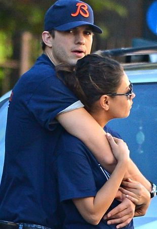 Ashton Kutcher i Mila Kunis to urocza parka
