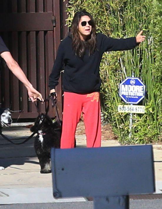 Mila Kunis w ciąży lubi sobie pokrzyczeć (FOTO)