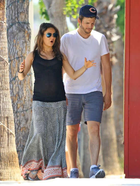 Ashton Kutcher będzie obecny przy żonie podczas porodu?