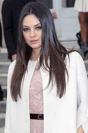 Mila Kunis na pokazie Diora (FOTO)