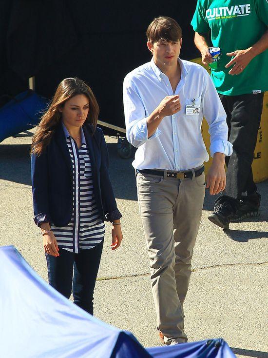 Mila Kunis jest narzeczoną Ashtona Kutchera?