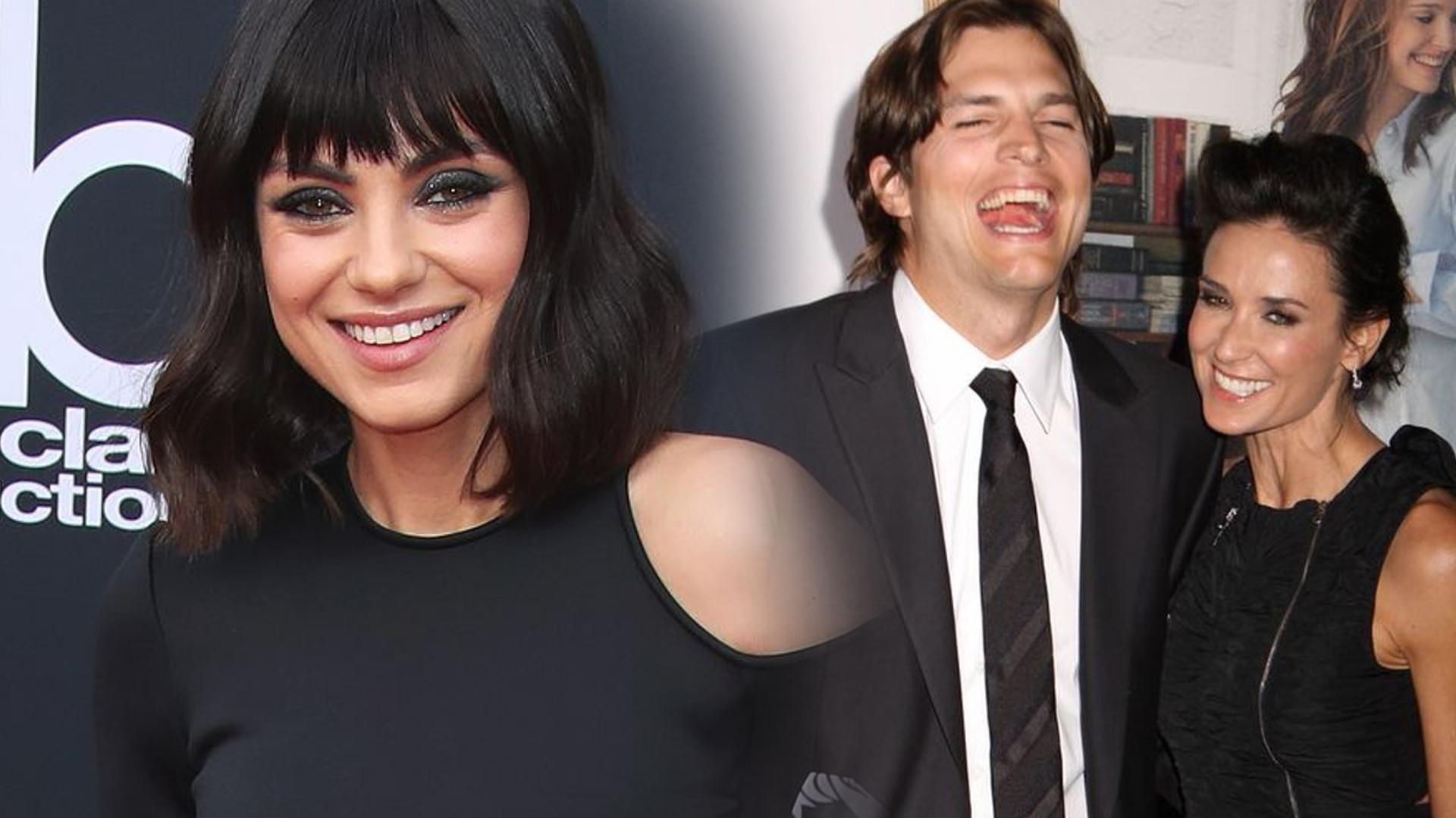 Mila Kunis W KOŃCU wypowiedziała się na temat małżeństwa Ashtona z Demi Moore