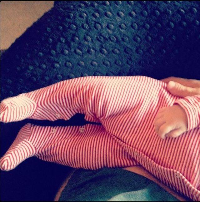 Malin Akerman chwali się synkiem (FOTO)
