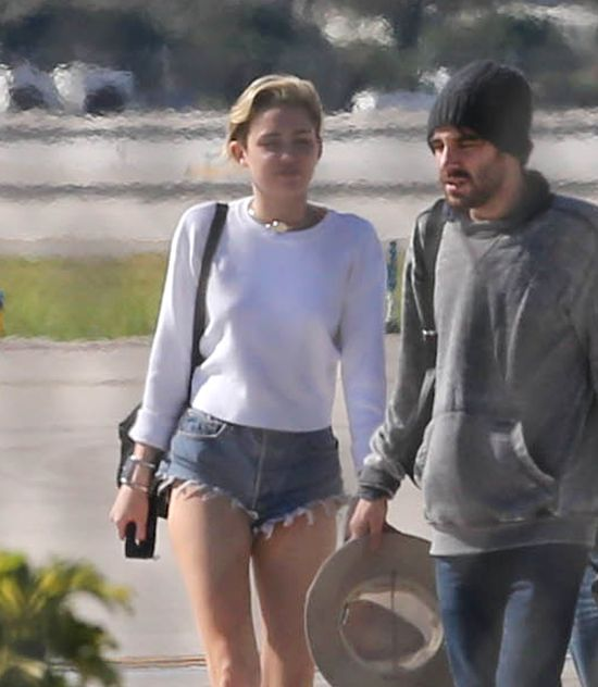 Miley Cyrus i Kellan Lutz spędzili razem dzień na Bahamach!