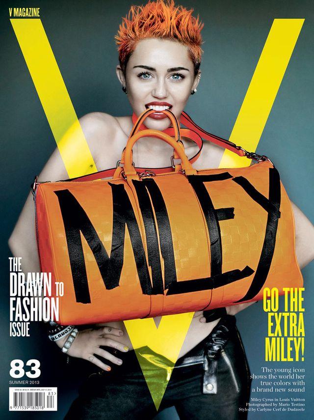 Ostra Miley Cyrus na trzech okładkach V Magazine (FOTO)