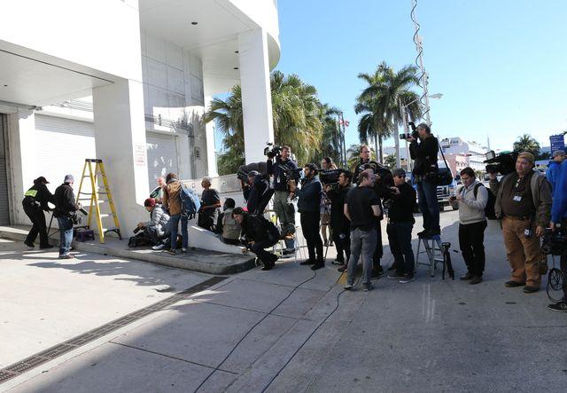 Najnowsze zdj�cia z Miami po aresztowaniu Justina Biebera