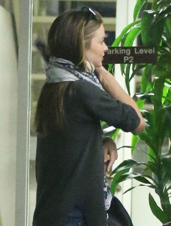 Kontuzjowana Miranda Kerr (FOTO)
