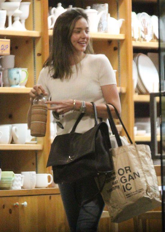 Miranda Kerr z ch�opakiem i synkiem (FOTO)