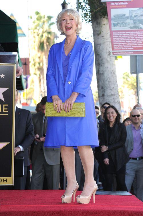 Helen Mirren ma swoją gwiazdę w Alei Sław (FOTO)