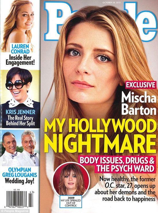 Mischa Barton: Miałam silne załamanie nerwowe