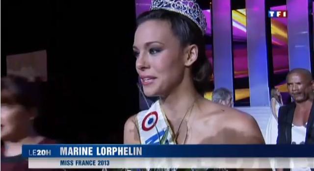 Marine Lorphelin, Miss Francji jest zbyt bia�a (FOTO)