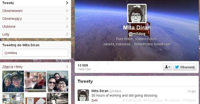Mita Diran zmarła, bo przesadziła z pracą?