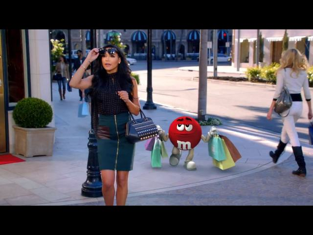 Naya Rivera w reklamie M&M'S [VIDEO]