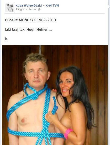 Internauci kpią z publikacji o śmierci Mończyka