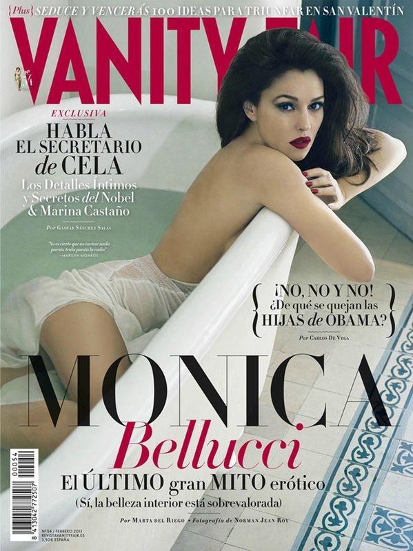 Monica Bellucci na okładce Vanity Fair (FOTO)
