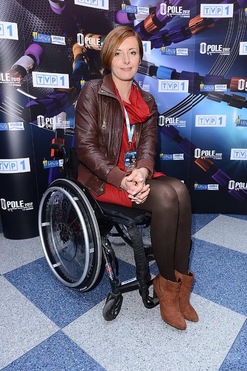Monika Kuszyńska nie traci nadziei, że wstanie z wózka