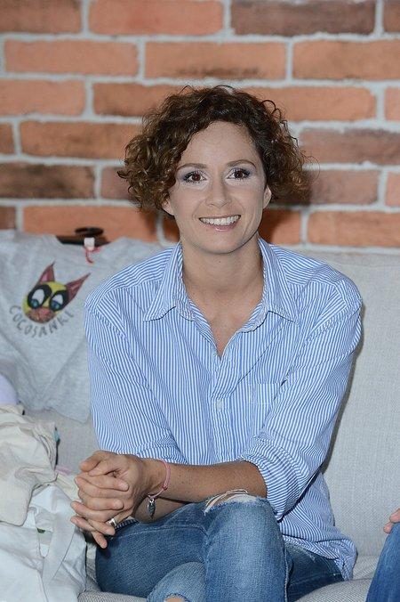Monika Mrozowska nie wygląda na przygnębioną (FOTO)