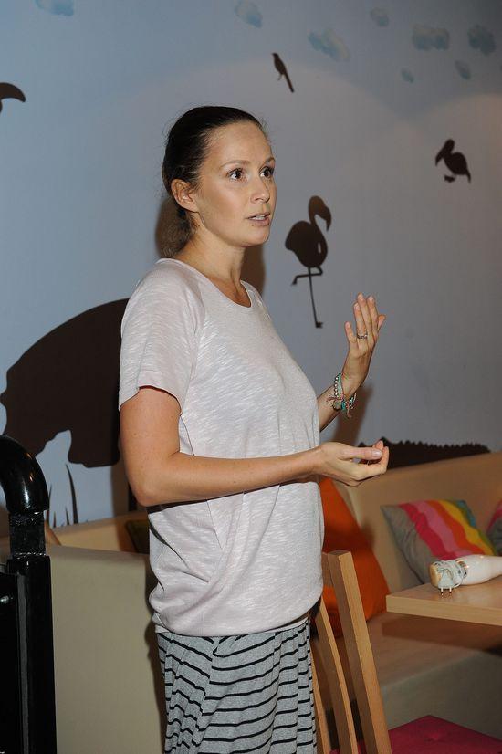 Monika Mrozowska łączy pracę z macierzyństwem (FOTO)
