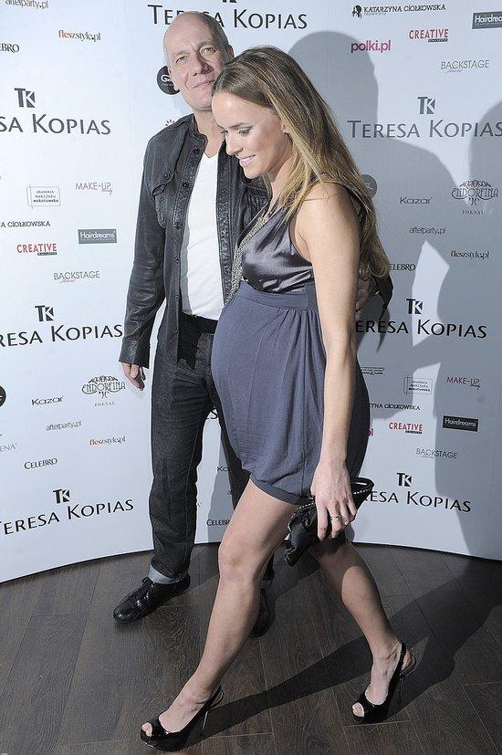 Monika Ordowska do końca ciąży na salonach (FOTO)