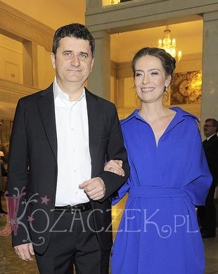 Żona Janusza Palikota w kobalcie (FOTO)