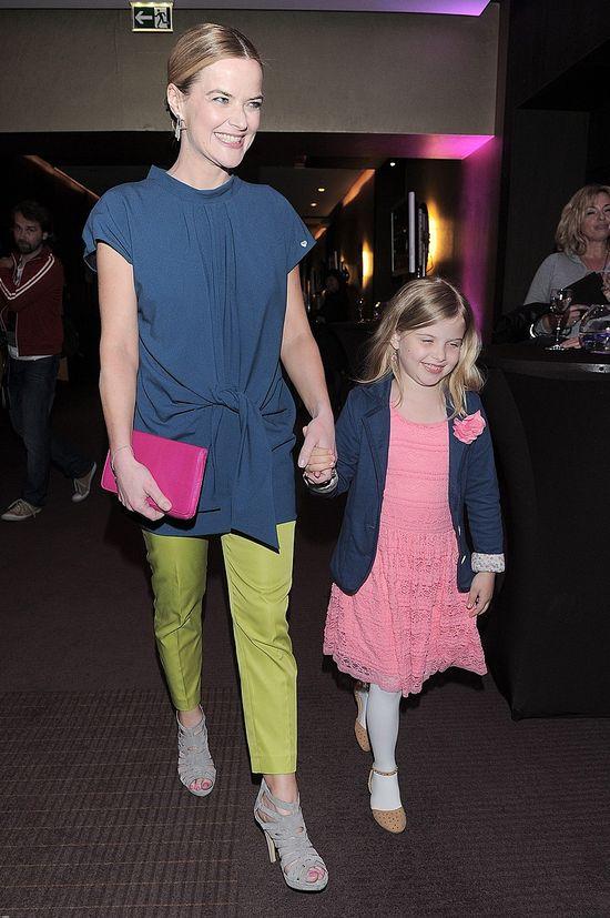 Monika Richardson zabrała córeczkę na pokaz mody (FOTO)