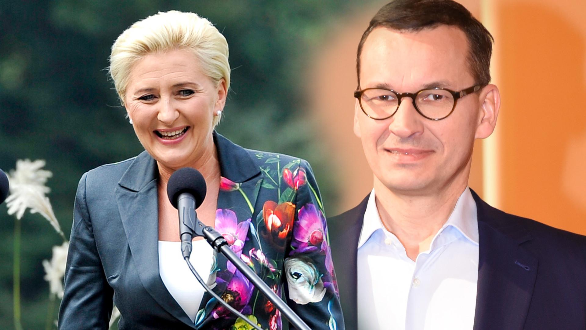Mateusz Morawiecki o pensji dla Agaty Dudy