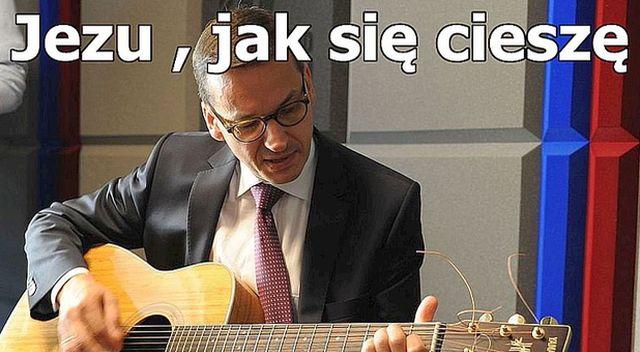 Mateusz Morawiecki za Beatę Szydło – memy