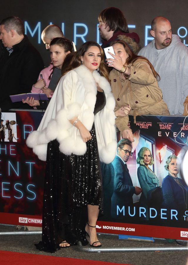 Gwiazdy na londyńskiej premierze filmu Morderstwo w Orient Expressie